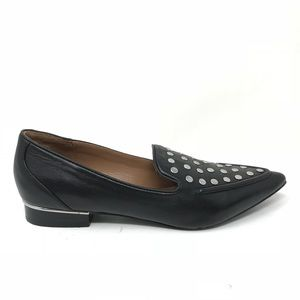 Topshop Sz 36 US 5.5 Pointed Toe Studded Loafers